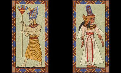 Ramesses II and Cleopatra (Civ2).png