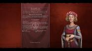 Eleanor of Aquitaine (English) loadscreen (Civ6)