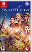 Civilization 6 for Nintendo Switch boxart (Civ6)