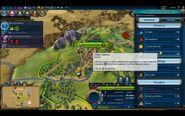 Civilization VI - Devs play as Brazil screenshot - City menu 2