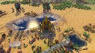 Angkor Wat in-game (Civ6)