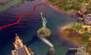 Statue of Liberty in-game (Civ6)