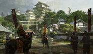 Himeji Castle completion art (Civ5)
