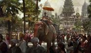Angkor Wat completion art (Civ5)