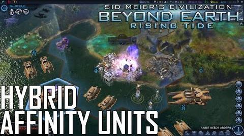 Beyond Earth Rising Tide - Hybrid Affinities