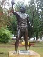 Lautaro Statue