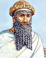 Drawing of Hammurabi