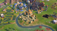 Great Library in-game (Civ6)
