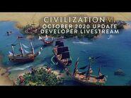 Civilization VI - October 2020 Game Update Developer Livestream