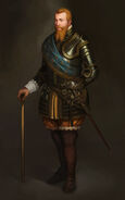 Concept Art of Gustavus Adolphus (Civ5)