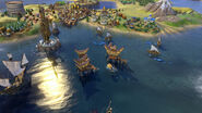 Kampung in-game (Civ6)