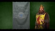 Robert the Bruce loadscreen (Civ6)