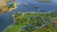 Hippolyta in-game (Civ6)