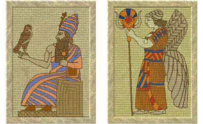 Hammurabi and Ishtar (Civ2).png