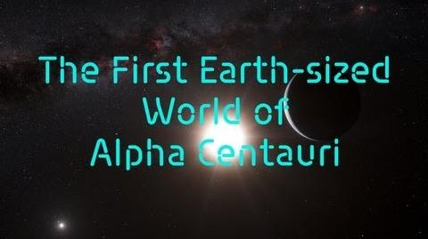 The First Earth-sized World of Alpha Centauri