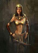 Cleopatra Concept Art (CivRev)