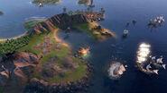 Civ6 Barbary Corsair In-Game