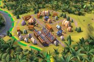 Carnival District screenshot (Civ6)