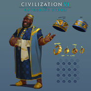 Civ6 Mansa Musa Concept Art 2