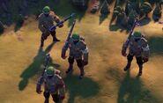 Infantry - African (Civ6)