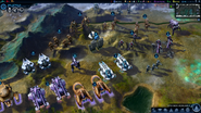 Beyond Earth - Rising Tide - Hybrid Affinity units screenshot