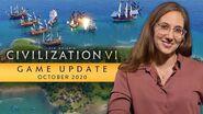 Civilization VI Game Update - October 2020