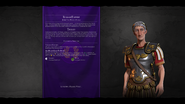 Trajan loadscreen (Civ6)