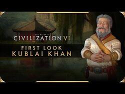 Civilization VI - First Look- Kublai Khan - Civilization VI New Frontier Pass