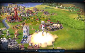 Launch Moon Landing screenshot (Civ6).jpg