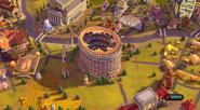 Colosseum in-game (Civ6)