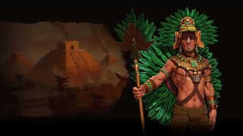 Civilization VI OST - Aztec (Montezuma) - Atomic Theme - Nahua Music