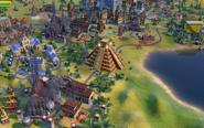 Chichen Itza in-game (Civ6)