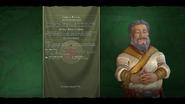 Kublai Khan (Chinese) loadscreen (Civ6)