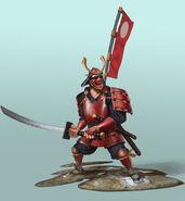 Samurai concept art