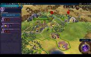 Civilization VI - Devs play as Brazil screenshot - Choose civic