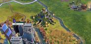 Hanging Gardens in-game (Civ6)