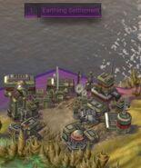 Earthing settlement (CivBE)