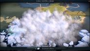 Blizzard in-game (Civ6)