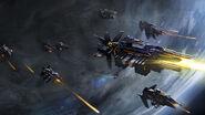 Steam trading card large Supremacy Fleet (Starships)