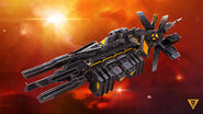 Steam trading card large Supremacy Ship (Starships)