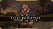 Theodore Roosevelt Civilization VI (Rough Rider)