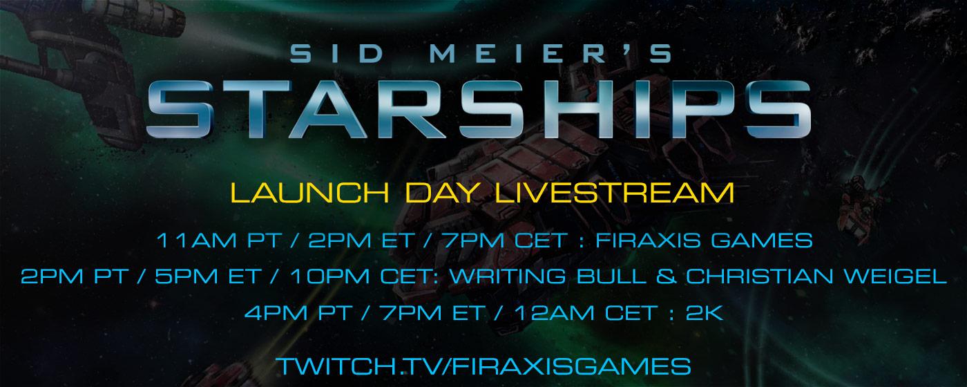 Davehinkle/Starships global launch livestream event