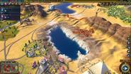 Natural Wonder Dead Sea closeup (Civ6)
