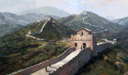 Great Wall completion art (Civ5)