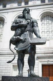 Ashurbanipal Statue