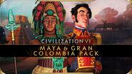 Civilization VI - New Frontier Pass - Pack de los mayas y Gran Colombia