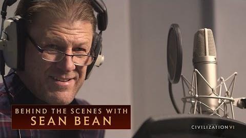 CIVILIZATION VI - Behind the Scenes With Sean Bean - International Version (With Subtitles)