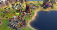 Meenakshi Temple in-game (Civ6)