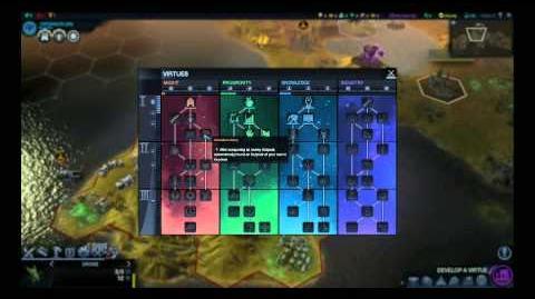 Sid Meier's Civilization Beyond Earth - Livestream 3 Techs and Virtues