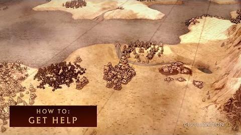 CIVILIZATION VI - How To Get Help - International Version (With Subtitles)